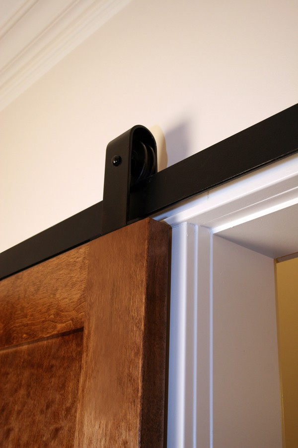 Single Door Flat Track Kit with Top Mount Hangers
